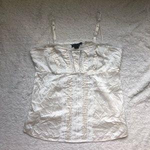 100% Silk & Lace Camisole